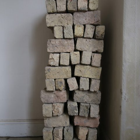 Salvaged Bricks from Interior Wall
