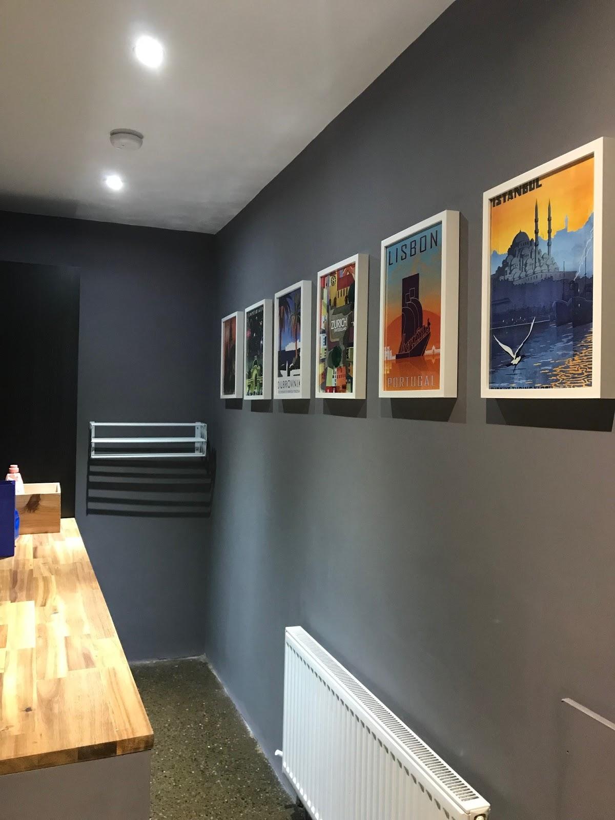 Art Framed & Hung