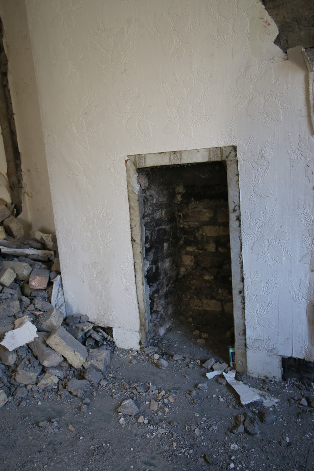 Old Bedroom Fireplace