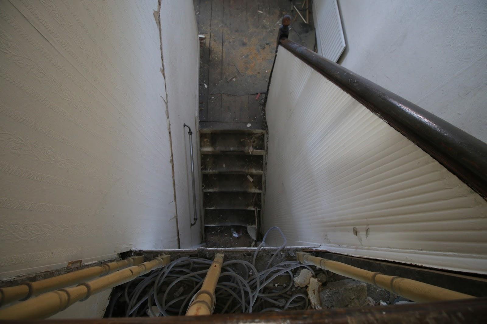 Looking Downstairs