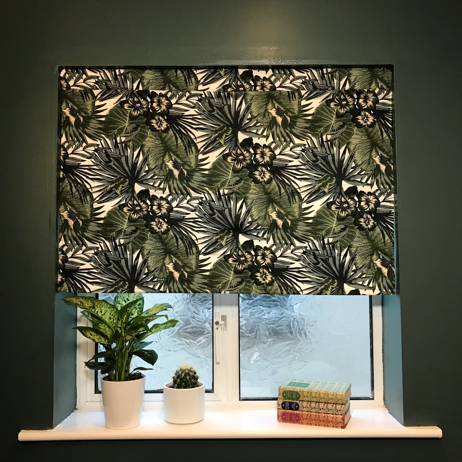 I am in love with the Ikea Hack Blind