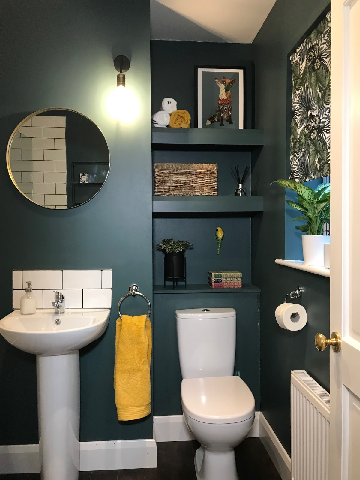 Styling is important in a bathroom