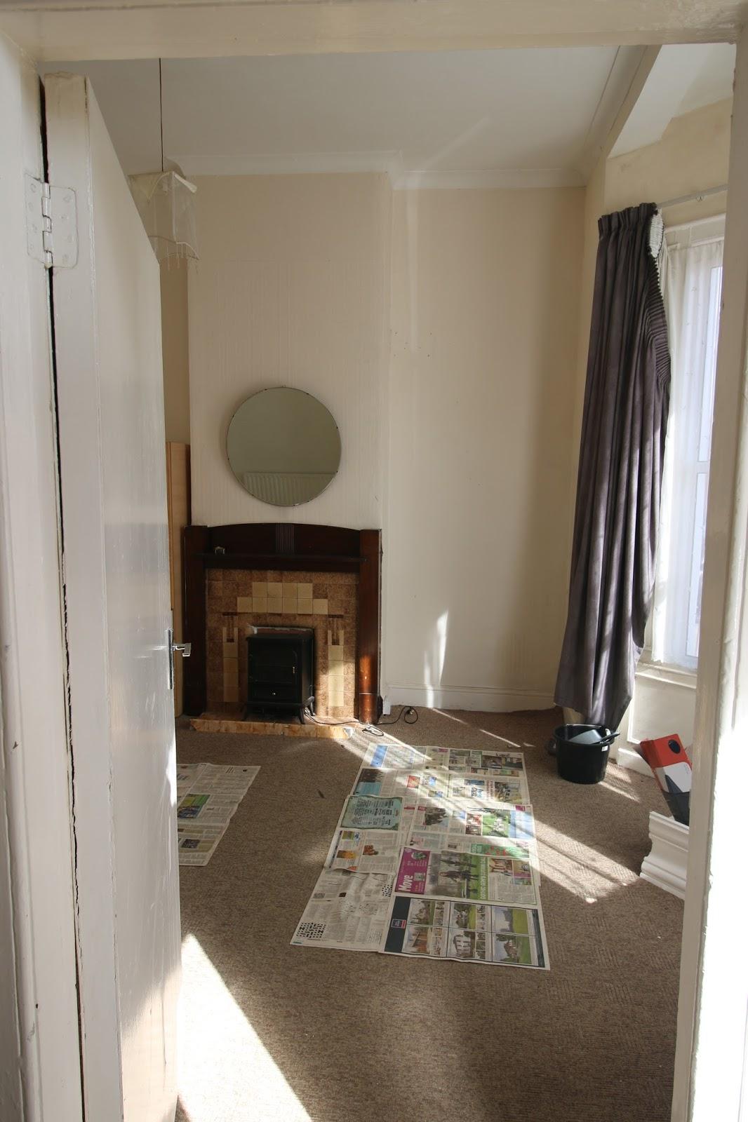 Living room in 2016