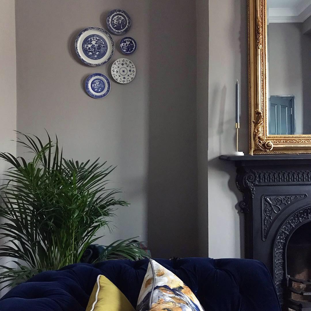 Finished living room 2018