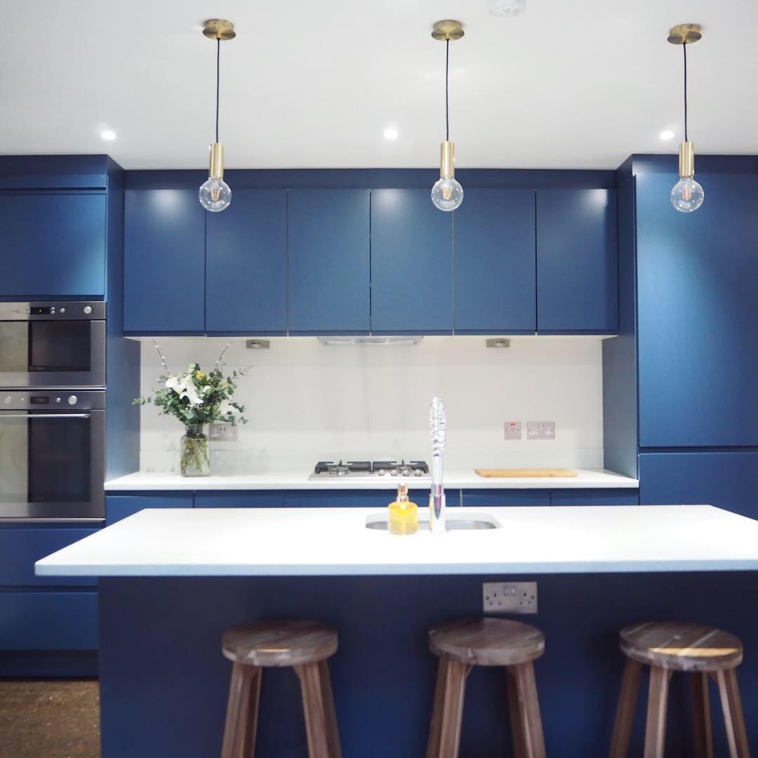 Stiffkey Blue kitchen 2018
