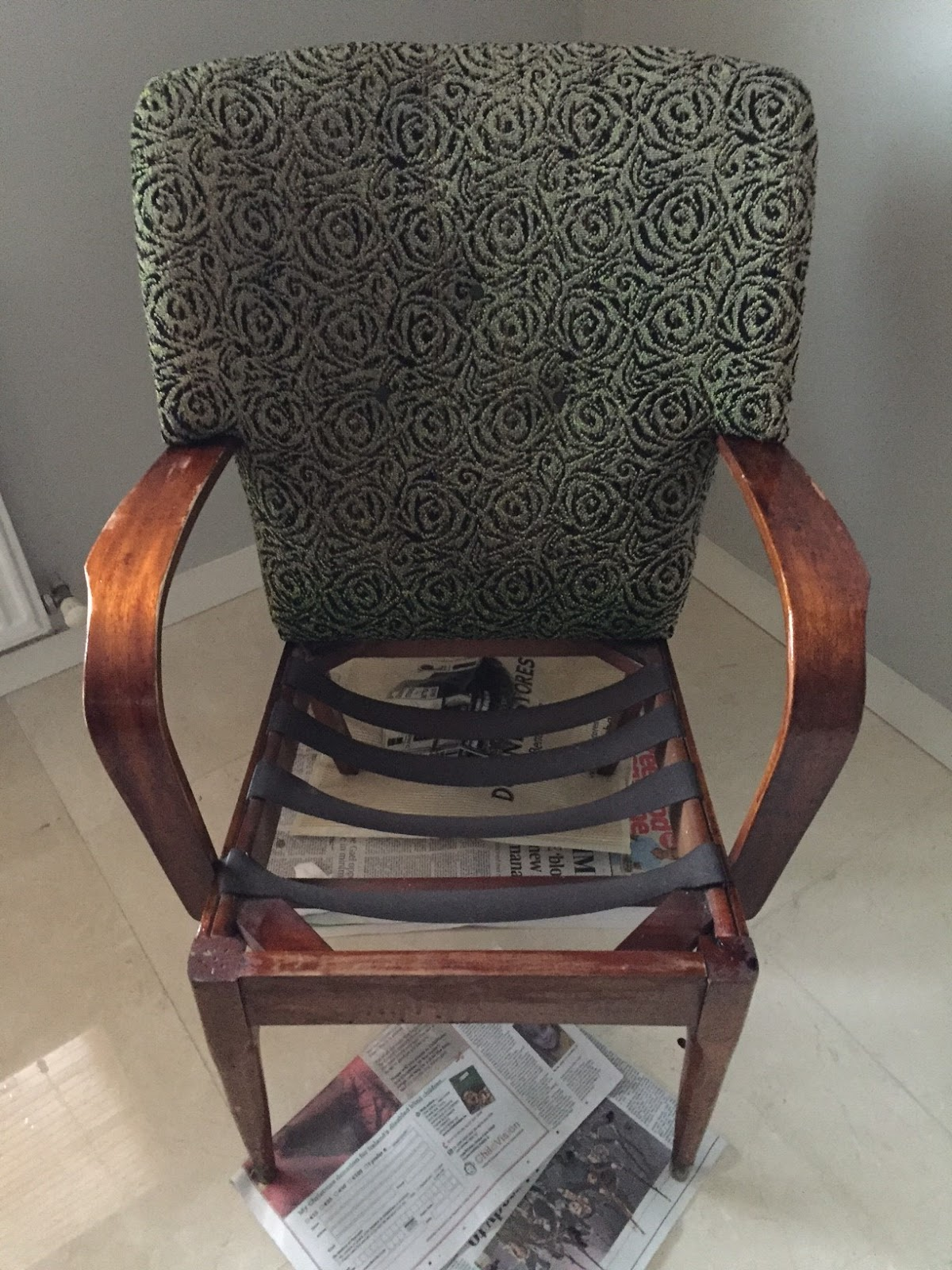 Chair Found in a Skip